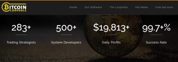 Bitcoin Loophole Fake Claims of Results